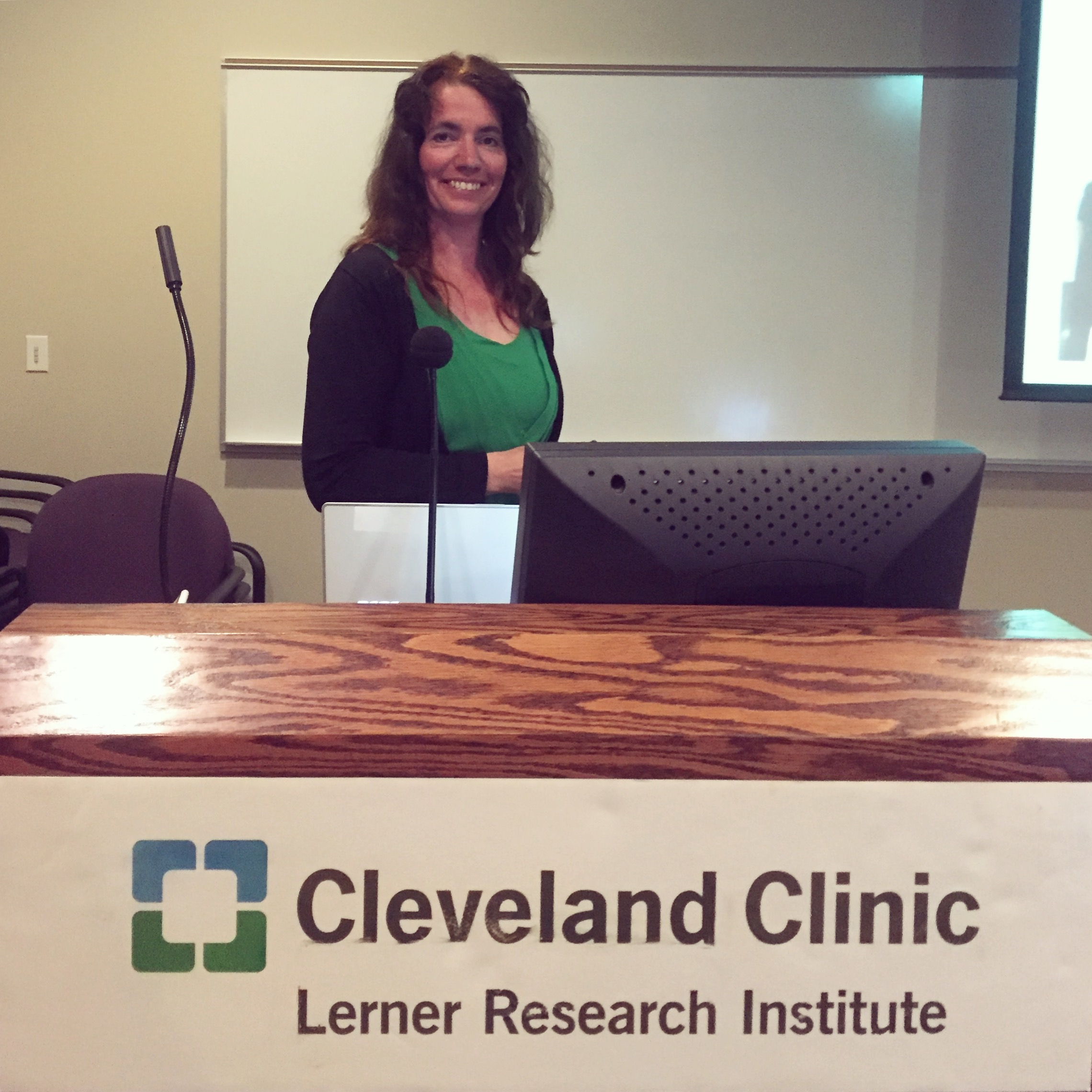 Bianca-Brundel-bij-Cleveland-Clinic