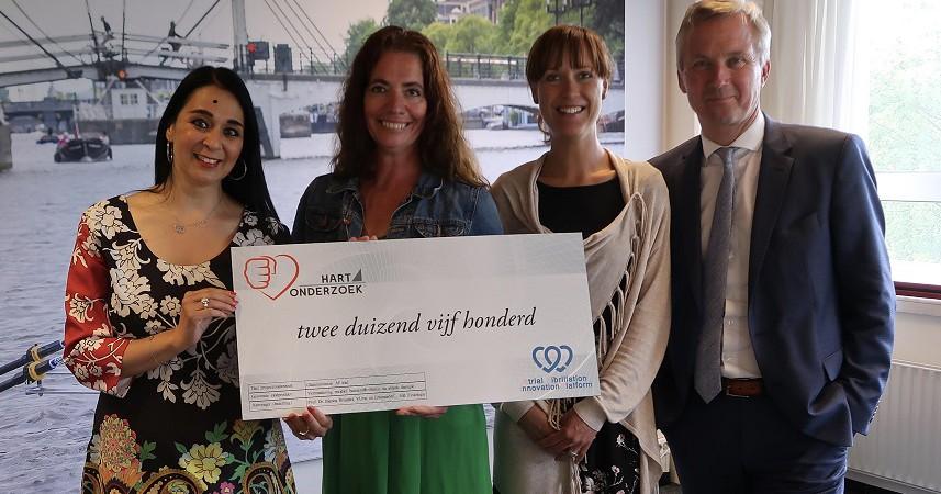 AFIP ontvangt donatie van hart4onderzoek