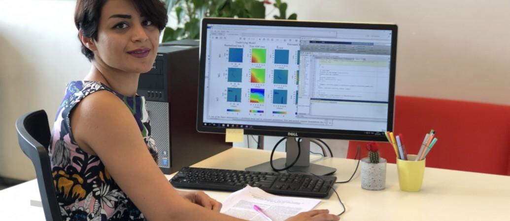 Bahareh Abdikivanani researching atrial fibrillation