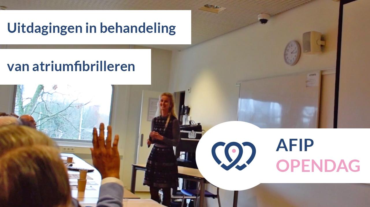 Presentatie: De uitdagingen van de huidige behandelingen van atriumfibrilleren