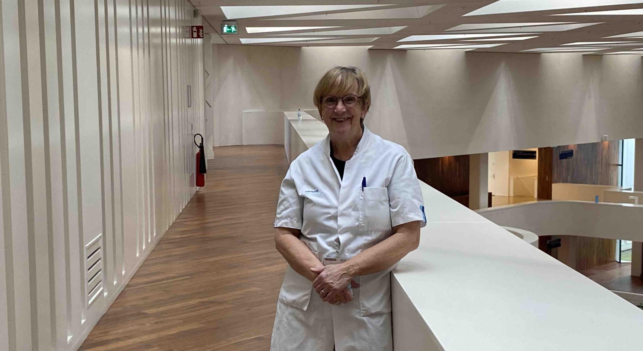 Zorg voor de Zorg: Verpleegkundige Agnes Muskens keert terug naar het Erasmus MC!